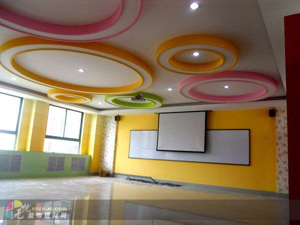 美术教室实景 作品 效果图,实景图,样板间,建筑设计师,室内