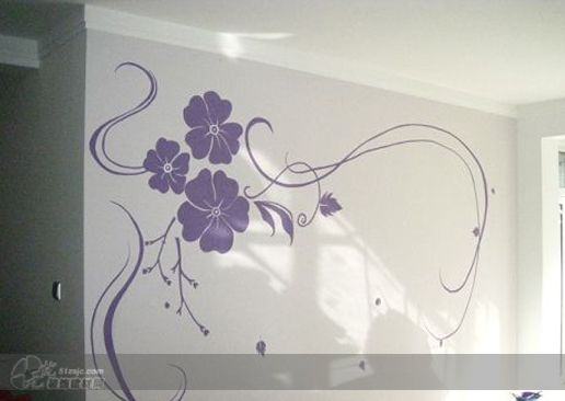 长沙大画家墙绘 作品 家居设计图库 效果图,实景图,样板间,
